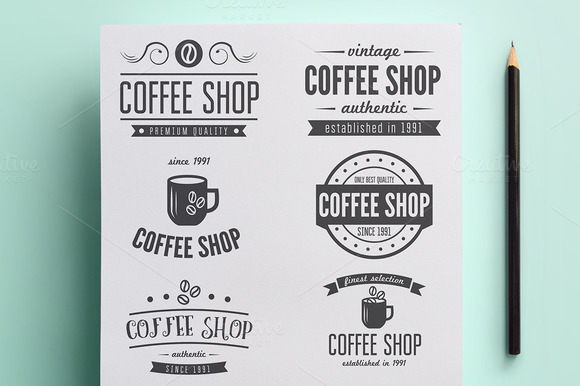 Collection Of Coffee Shop Logo Vol.2