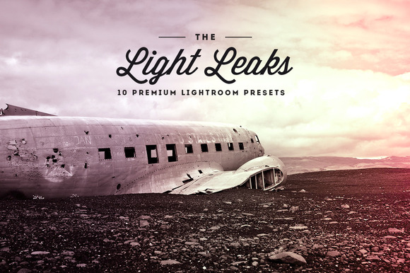 Light Leaks Vol.01- Lightroom Preset