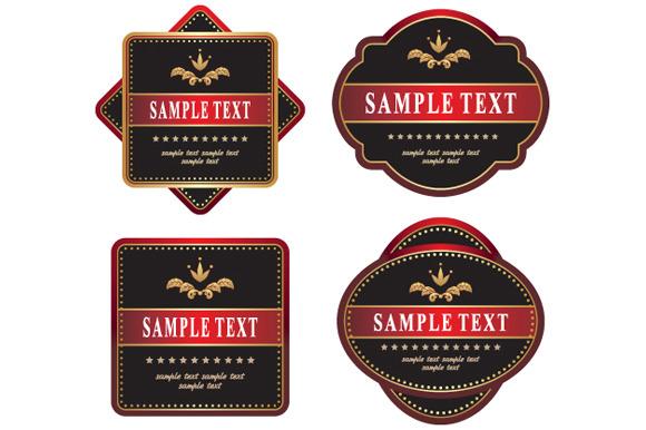 Set Of Labels