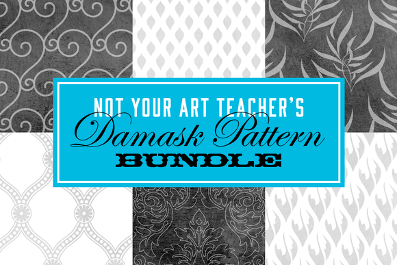 Not Your Art Teacher S Damask BUNDLE