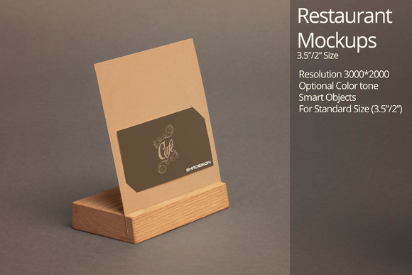 Restaurant Mockup 5
