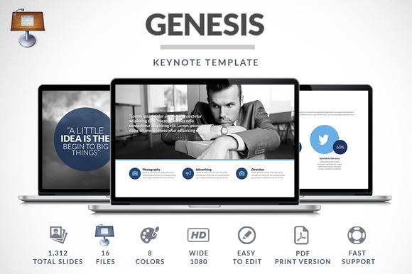 Genesis Keynote Presentation