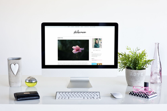 Modern Wordpress Theme Philomena