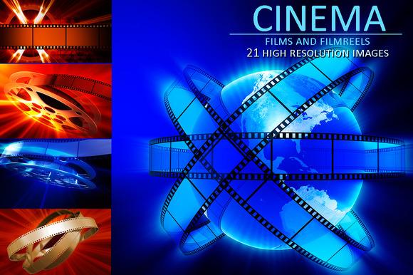 Films And Film Reel