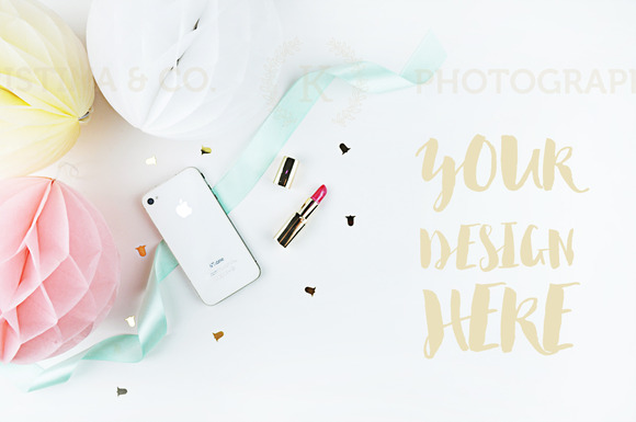 Mockup Party Styled Photography