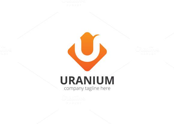 Uranium U Letter Logo
