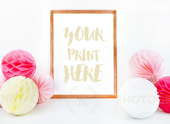 Frame Mockup Styled Photography