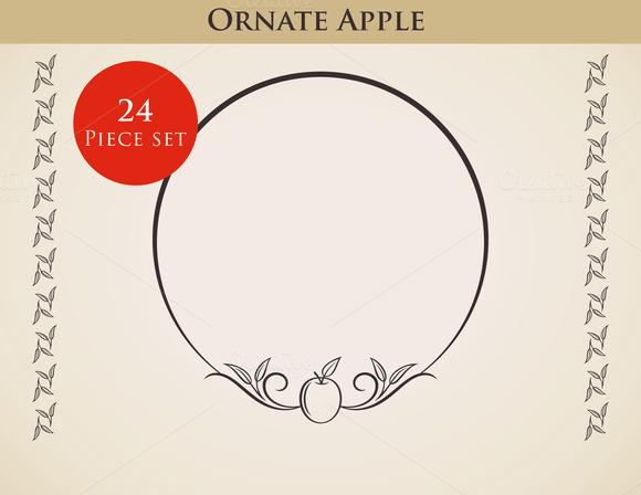 Ornate Apple