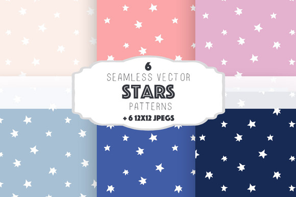 Stars Patterns Set 3