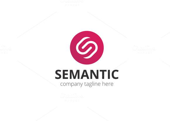 Semantic Letter S Logo