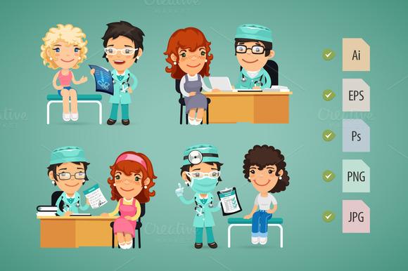 Women Having Medical Consultation