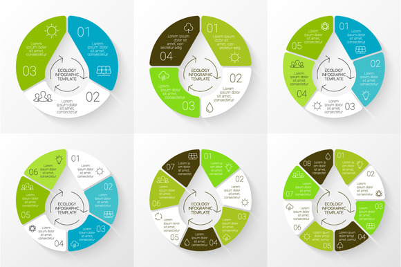 6 Infographics For Eco Presentations