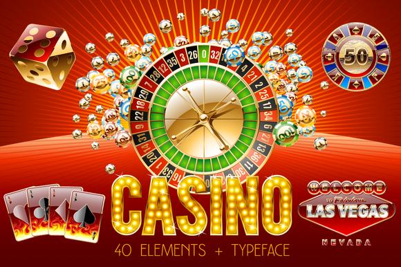 Casino Vector Bundle 40 Alphabet