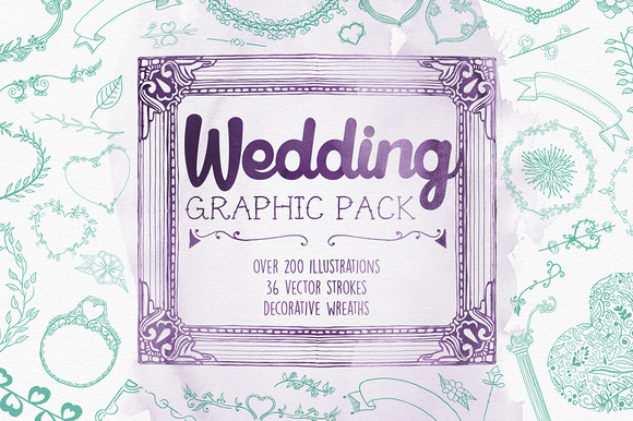 Wedding Vector Graphic Pack