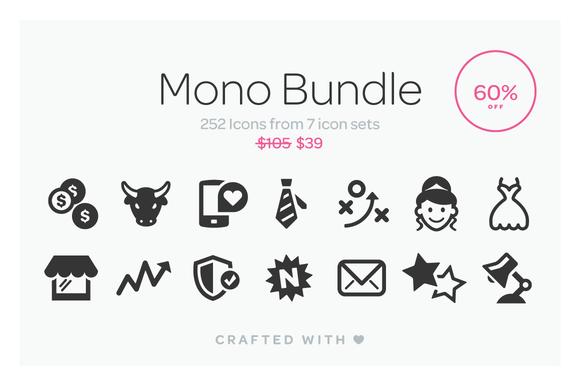 Mono Icons Bundle