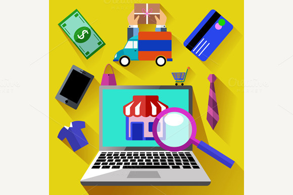 Online Shopping Process And Delivery
