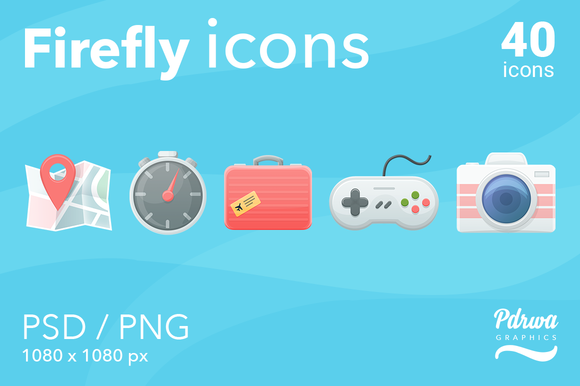 Firefly Icons