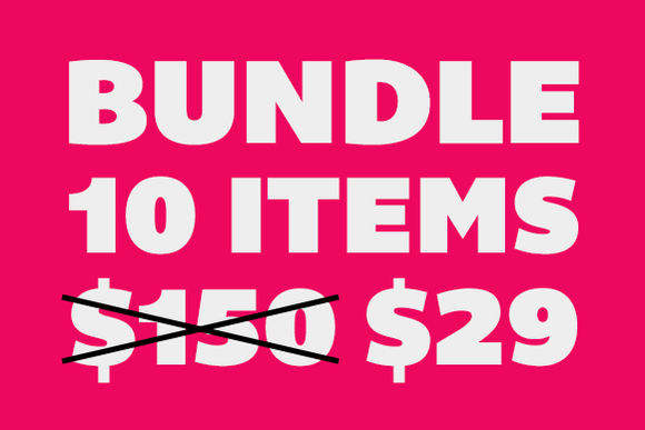Bundle 10 Items For Only $29
