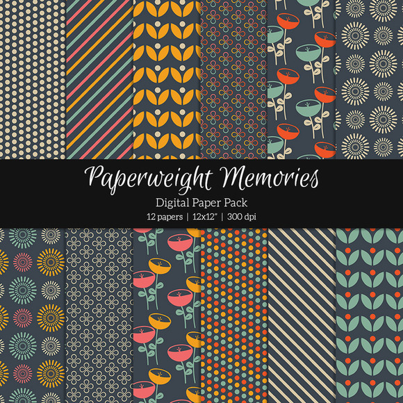Patterned Paper Happy Hour