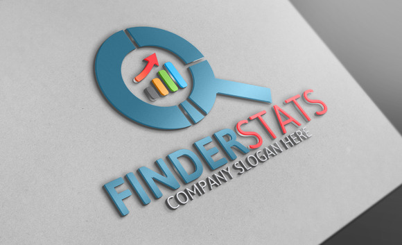 Finder Stats Logo Template