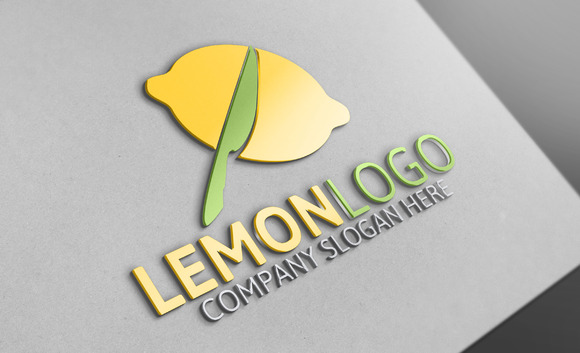 Lemon Logo Template