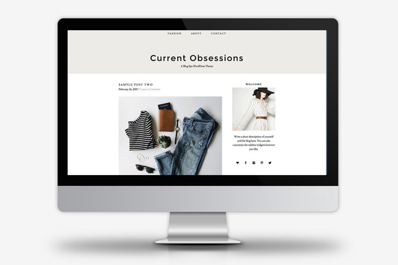 Current Obsessions WordPress Theme