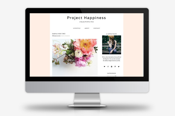 Project Happiness WordPress Theme