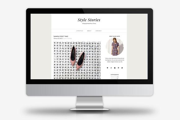 Style Stories WordPress Theme