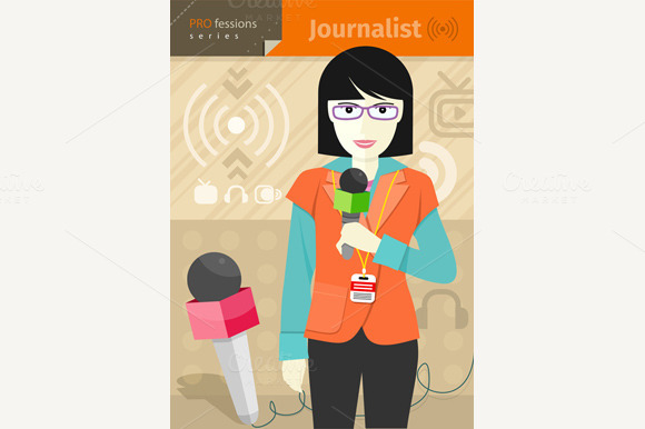 Female Journalist