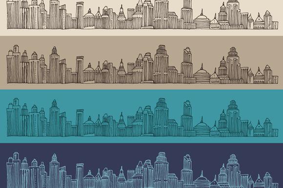 Big City Skyline Architecture