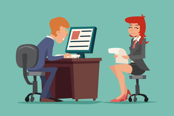 Job Interview Task Conversation
