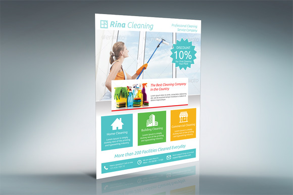 Cleaning Company Flyer V002