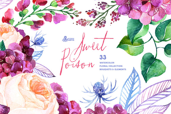 Sweet Poison Floral Collection