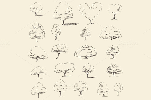 Set Of Sketch Trees