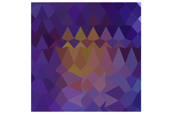 Dark Violet Abstract Low Polygon Bac