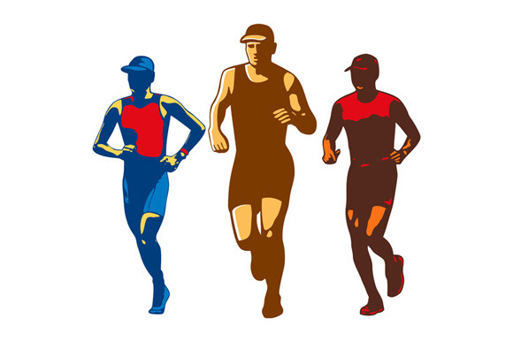 Triathlete Marathon Front Collection