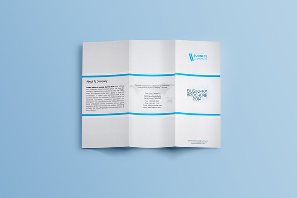Creative Trifold Business Brochure