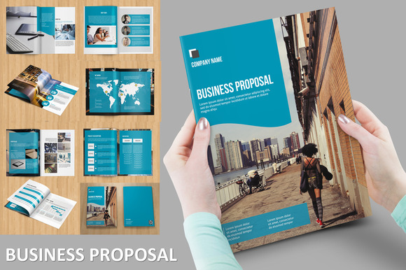 Modern Business Proposal-V121