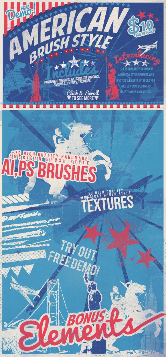 American Brush Style Bonus