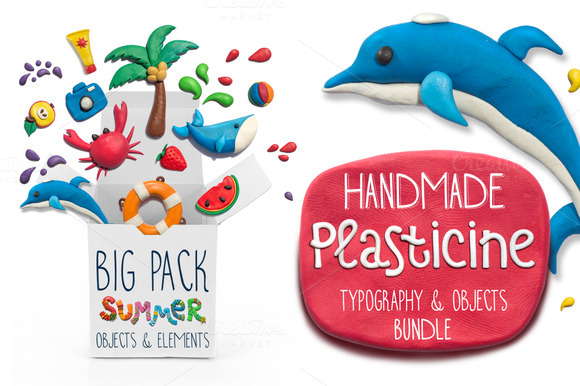 Handmade Plasticine Summer Kit