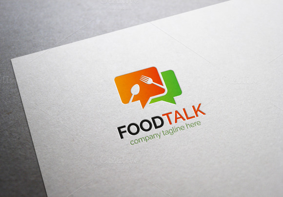 Food Talk Logo