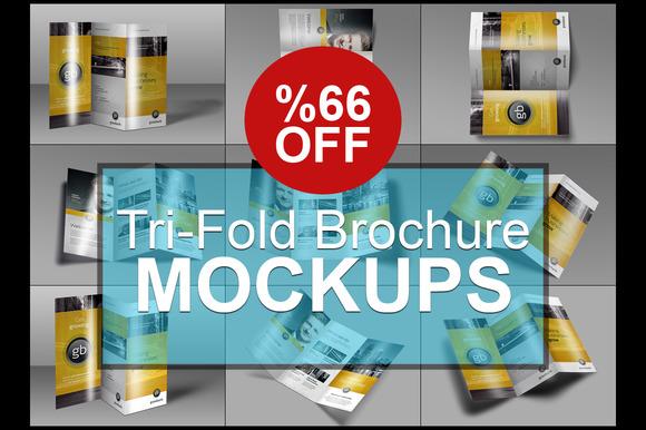 Photorealistic Tri-Fold Brochure Moc