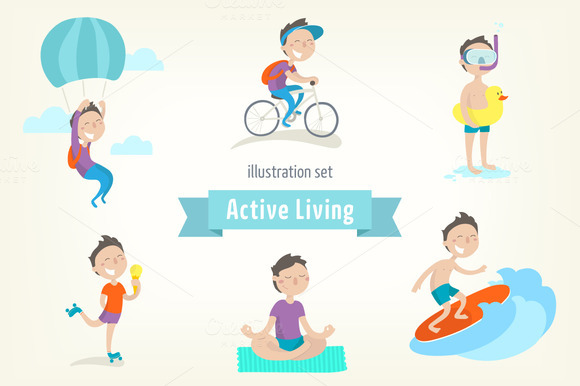 Active Lifestyle Boy S Edition