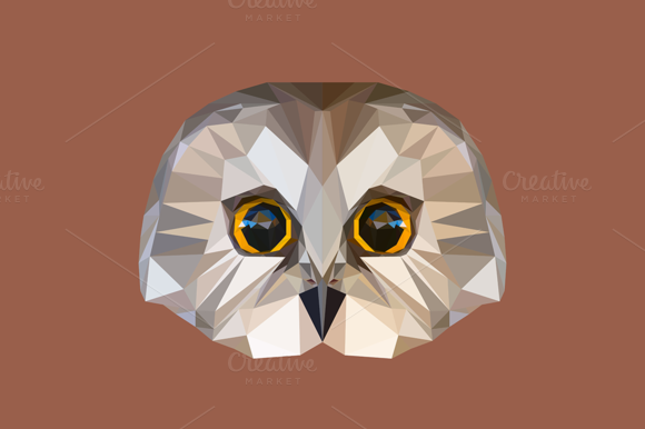 Low Poly Owl