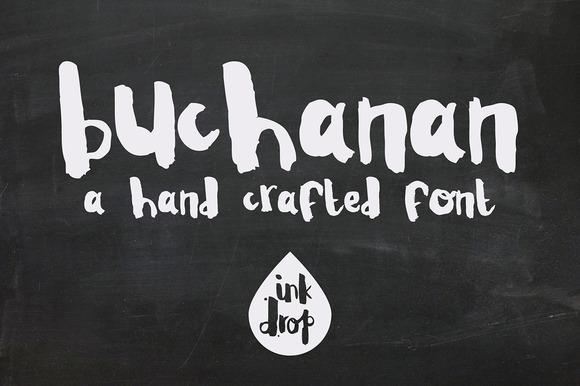 Buchanan A Hand Crafted Font