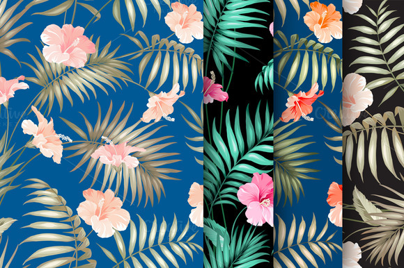 Collection Of Tropical Patterns
