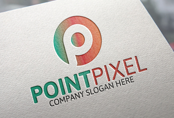Point Pixel P Letter