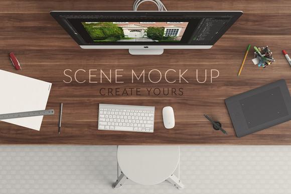Scene Mock Up