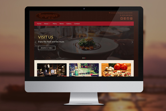 Lungomare A Restaurant WP Theme