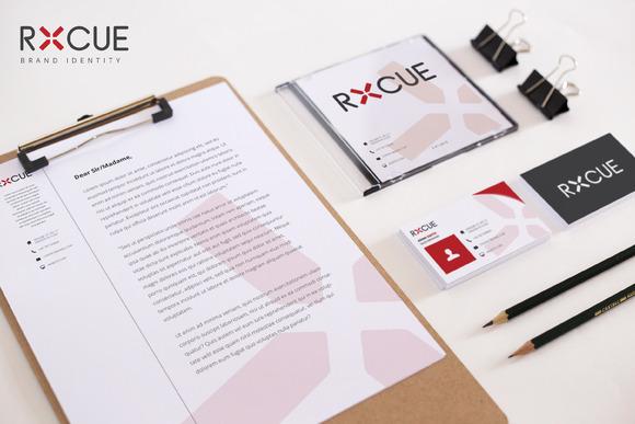 RXCUE Brand Identity